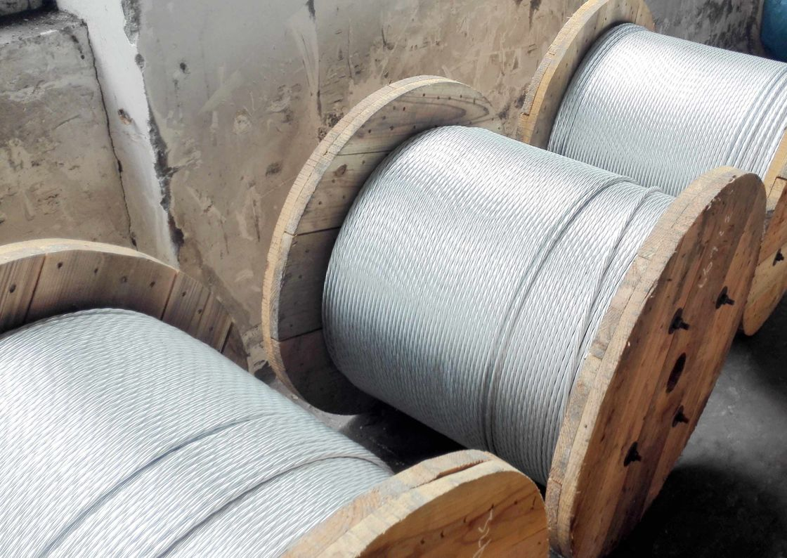 "A3/8""(1*7)ASTM A 475 Zinc-coated Steel Wire Strand with packing 5000ft/drum(1520m/drum)"