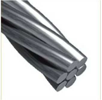 Industrial Galvanized Stay Wire Strand , Galvanized Steel Core Wire Strand For Telegraph And Telephone Poles