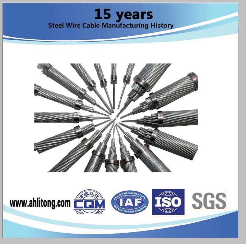 Overhead Conductor Aluminium Conductor Steel Reinforced , Sparrow ACSR Wire